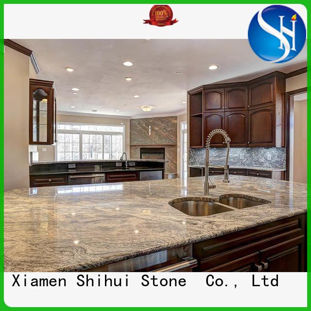 Shihui sturdy stone kitchen countertops supplier for hotel