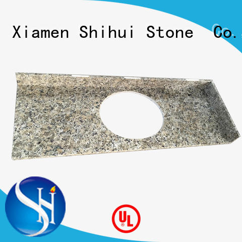 Shihui manmade cornerstone countertops factory price for hotel