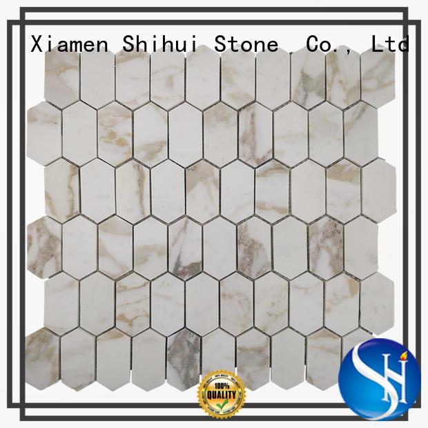 Shihui stone mosaic tile backsplash from China for household