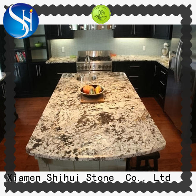 Shihui calacatta engineered stone countertops personalized for bar