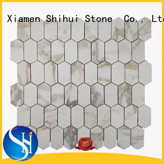Shihui practical natural stone mosaic manufacturer for toilet