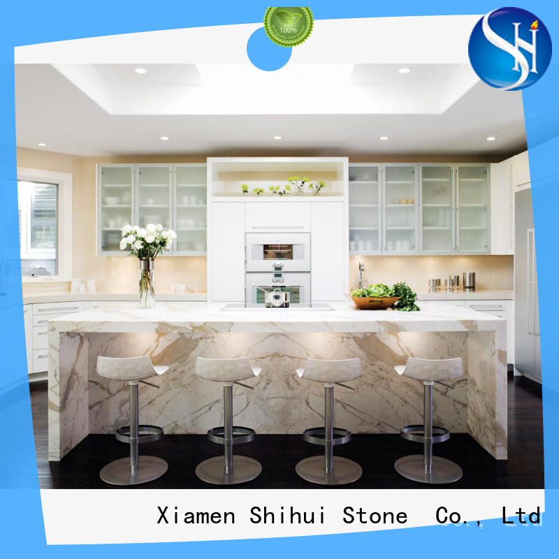Shihui cultured stone countertop supplier for bar