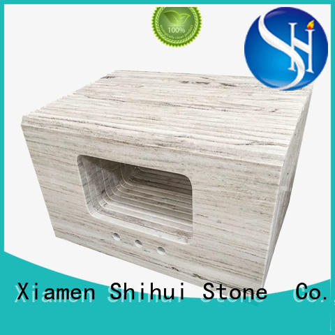black top stone countertops factory price for kitchen