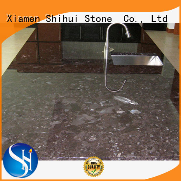 Shihui santo limestone countertops supplier for hotel