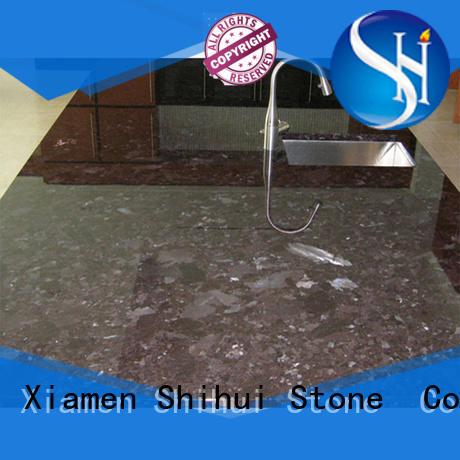 Shihui professional stone countertop supplier for bathroom
