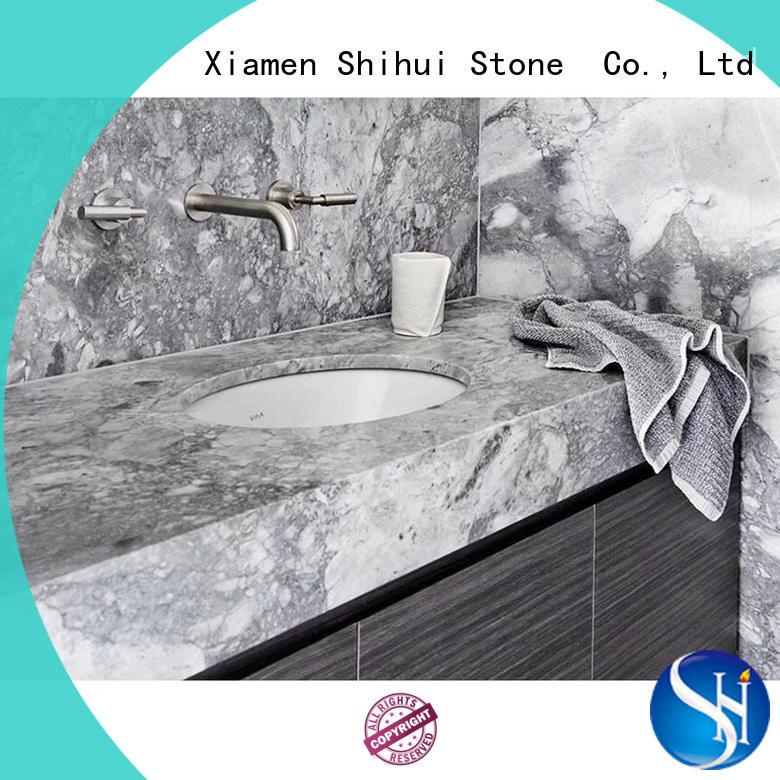 Shihui santo engineered stone countertops supplier for kitchen