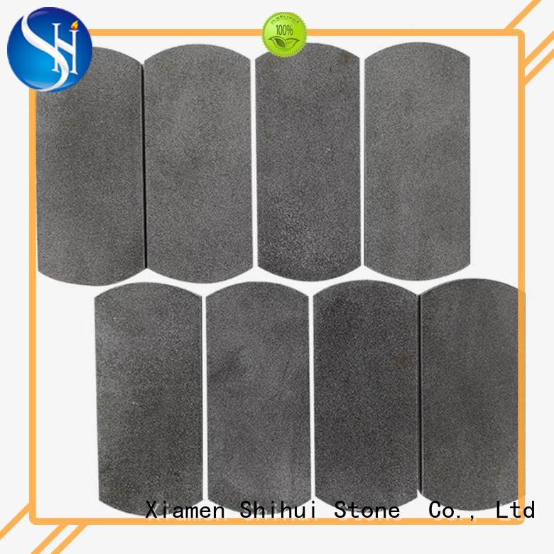 Shihui square stone mosaic backsplash manufacturer for toilet