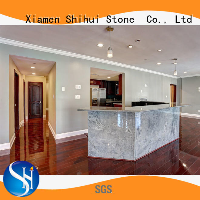 Shihui stable quartz engineered stone countertops for bar
