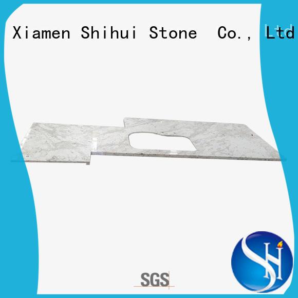 Shihui brown top stone countertops wholesale for bathroom