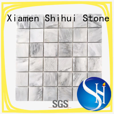 stone mosaic backsplash from China for indoor Shihui