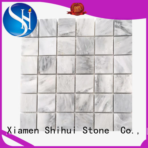 Shihui stone mosaic backsplash from China for bathroom
