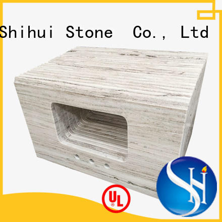 Shihui stable cultured stone countertop personalized for bar