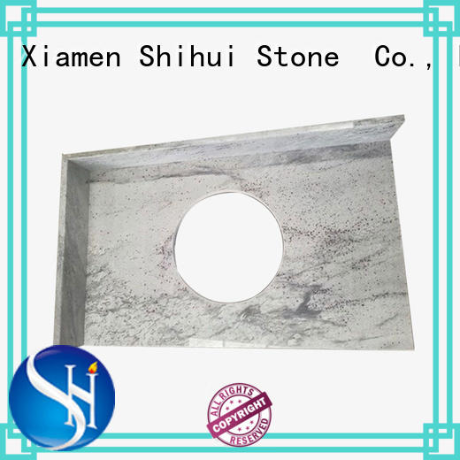 manmade stone slab countertop factory price for hotel