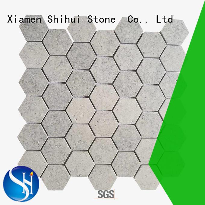 Shihui natural stone mosaic tiles manufacturer for bathroom
