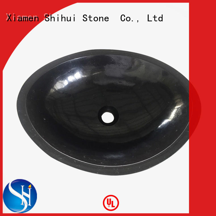 certificated natural stone sink basin supplier for bathroom