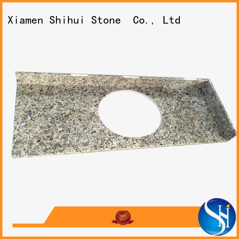 artificial top stone countertops factory price for hotel