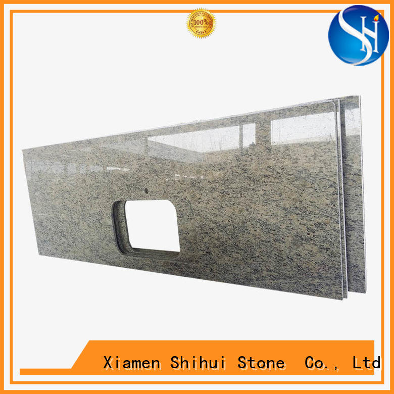 calacatta top stone countertops supplier for hotel