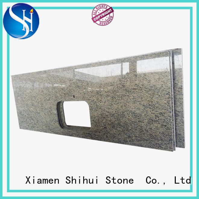 Shihui santo manmade stone countertops personalized for hotel