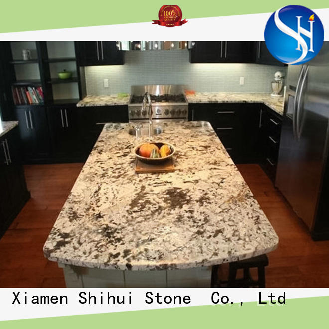 Shihui black cornerstone countertops supplier for bar