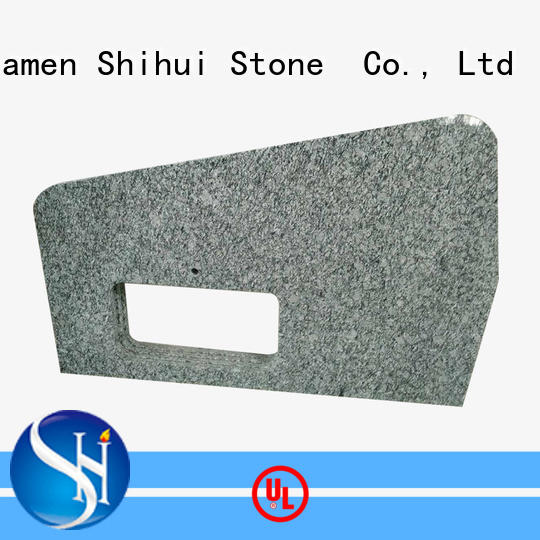 santo manufactured stone countertops factory price for bathroom