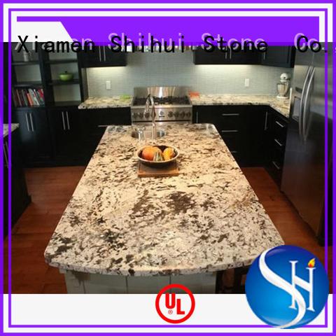 Shihui certificated marble granite countertops for hotel
