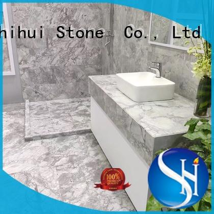natural marble tile factory for toilet Shihui