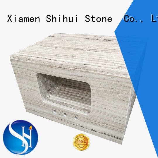 Shihui quality stone slab countertop factory price for kitchen