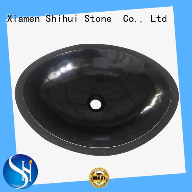 Shihui sturdy stone sink personalized for bathroom