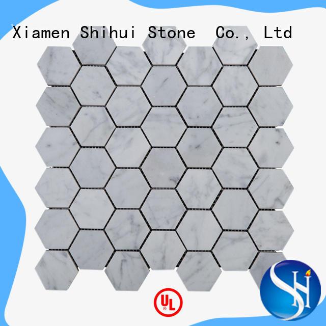 Shihui stone mosaic backsplash manufacturer for bathroom
