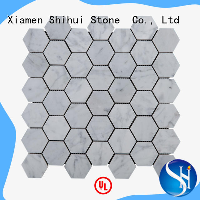 Shihui stone mosaic backsplash manufacturer for bathroom