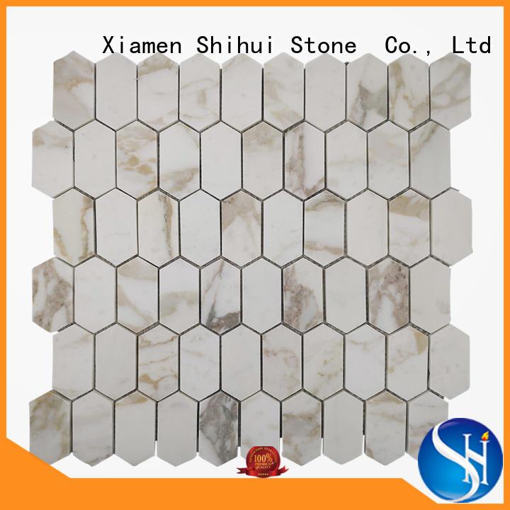 stone mosaic tile backsplash for household Shihui