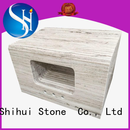 Shihui black top stone countertops factory price for bar