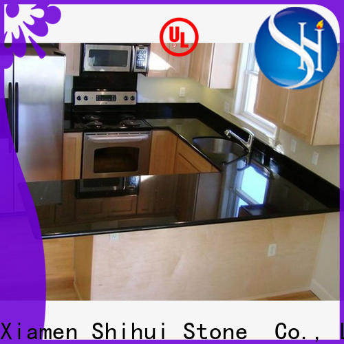 Shihui certificated manufactured stone countertops factory price for bar