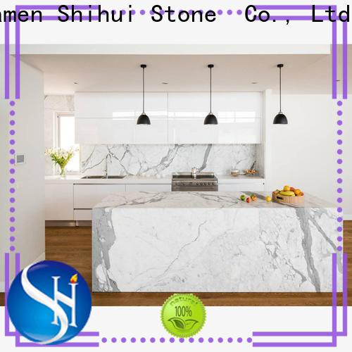 black stone countertop supplier for bar
