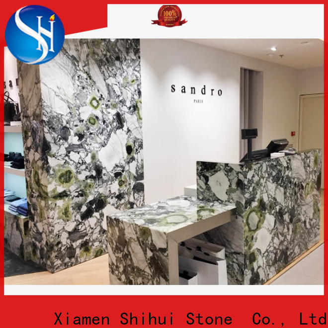 Shihui professional manufactured stone countertops wholesale for bar