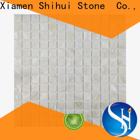 hexagon natural stone tile mosaic from China for bathroom
