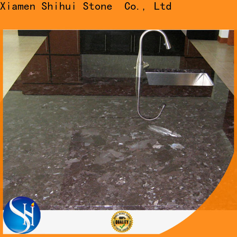 Shihui manmade best stone kitchen countertops wholesale for bar