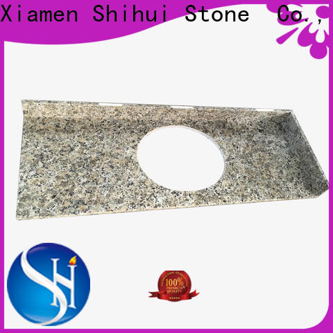 Shihui engineered stone countertops wholesale for hotel