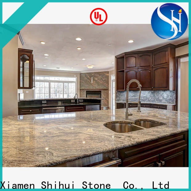 Shihui certificated top stone countertops personalized for hotel