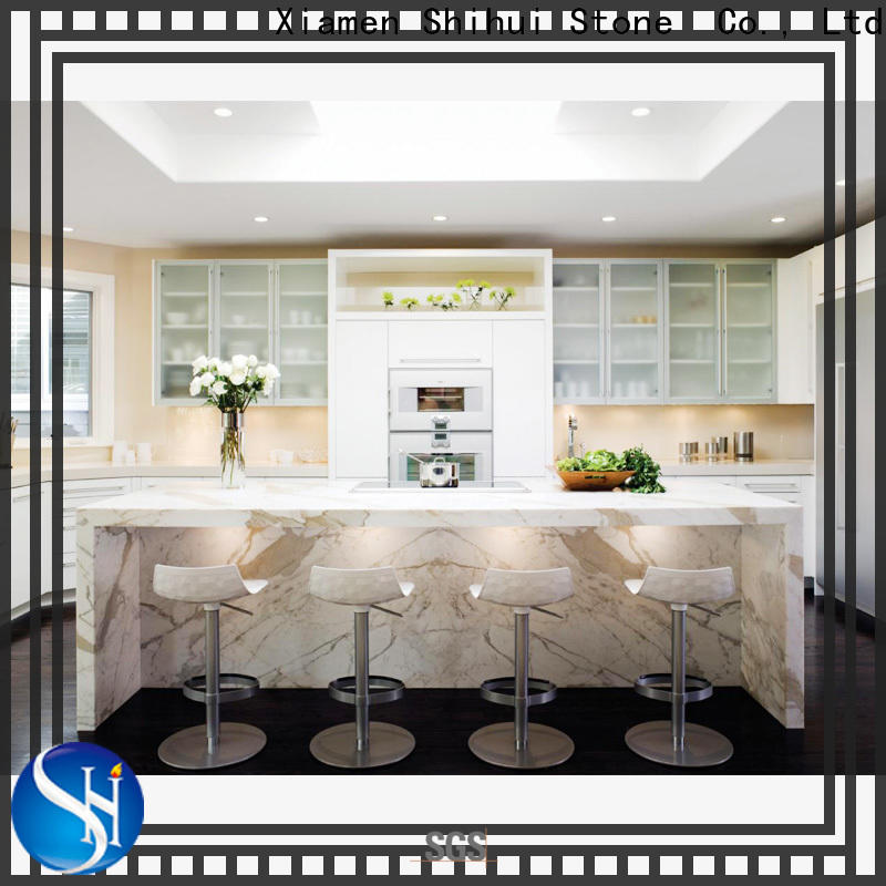 artificial cultured stone countertop factory price for kitchen