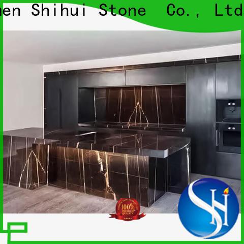 Shihui santo cultured stone countertop factory price for hotel