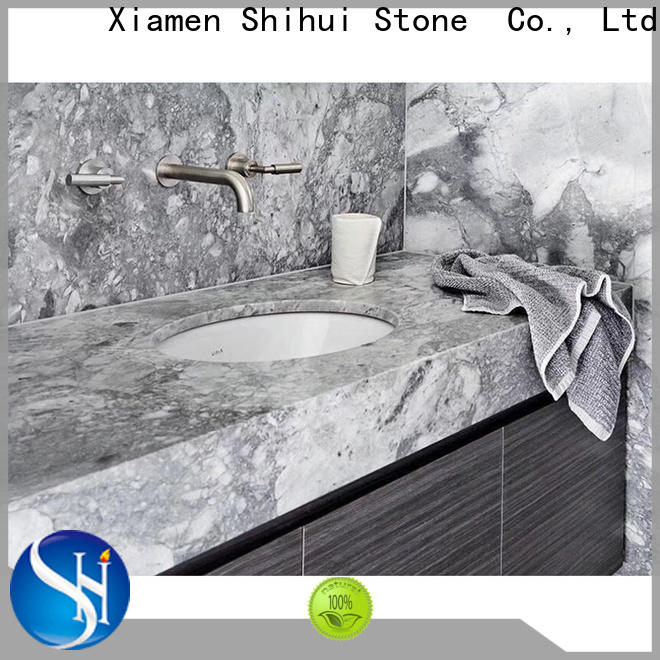 Shihui brown stone countertop personalized for bathroom