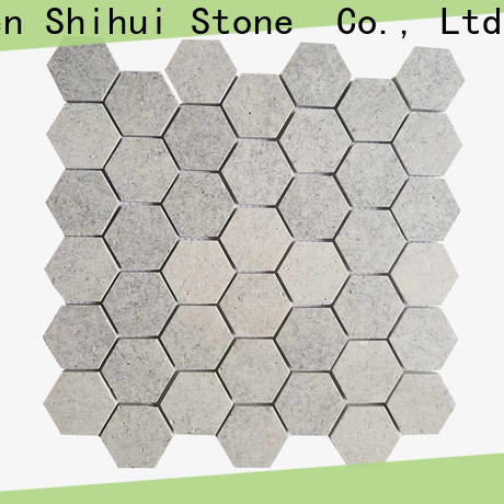Shihui hexagon tile stone mosaic directly sale for indoor