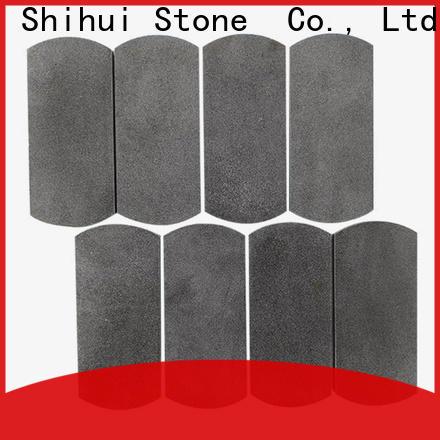 Shihui basalt stone mosaic backsplash customized for toilet