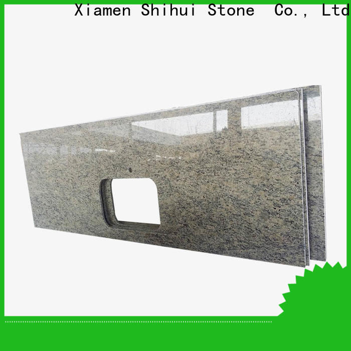 quality solid stone countertops personalized for hotel