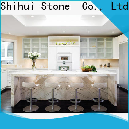 Shihui antique solid stone countertops supplier for bar