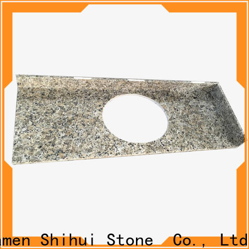 professional solid stone countertops personalized for bathroom