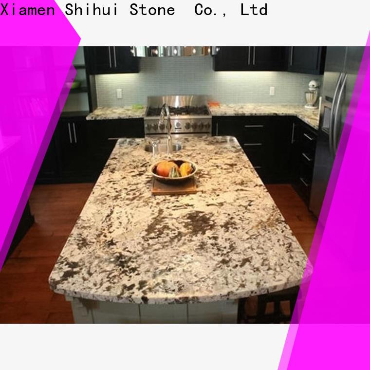 Shihui brown stone kitchen countertops wholesale for bathroom