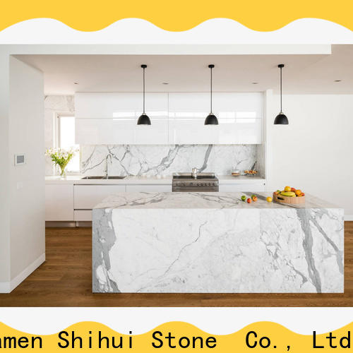 Shihui professional stone tile countertops factory price for hotel