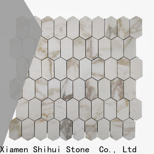 Shihui stone mosaic tile backsplash from China for toilet